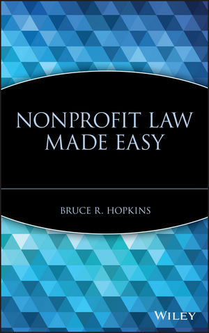 Nonprofit Law Made Easy  (0471727148) cover image