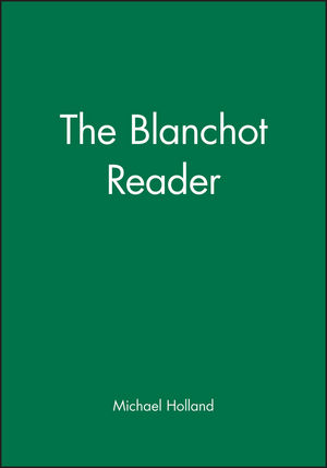 The Blanchot Reader (0631190848) cover image