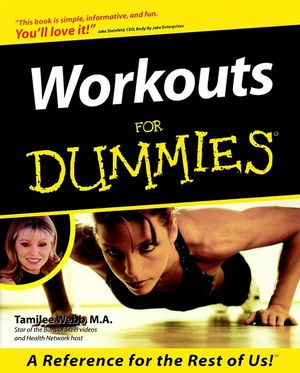 Workouts For Dummies (0764551248) cover image