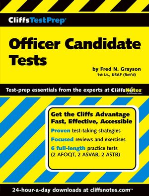 CliffsTestPrep<sup>®</sup> Officer Candidate Tests