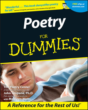 Poetry For Dummies (1118053648) cover image