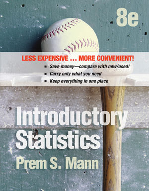 Introductory Statistics, Binder Ready Version, 8th Edition