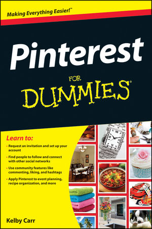 Pinterest For Dummies (1118353048) cover image