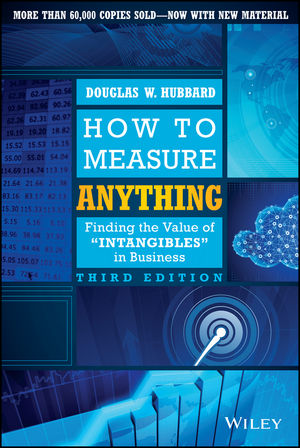 How to Measure Anything: Finding the Value of Intangibles in Business, 3rd Edition (1118836448) cover image