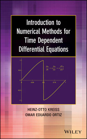 Introduction to Numerical Methods for Time Dependent Differential Equations (1118839048) cover image