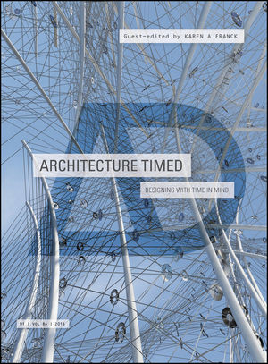 Architecture Timed: Designing with Time in Mind (1118910648) cover image