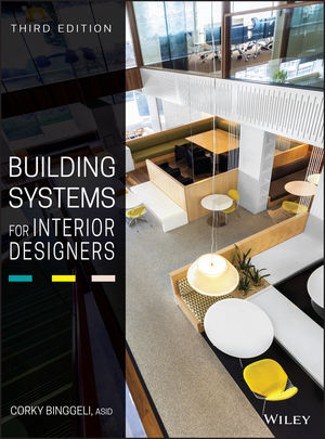 Building Systems For Interior Designers 3rd Edition 1118925548 Cover Image