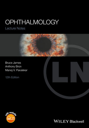 Lecture Notes Ophthalmology, 12th Edition (1119095948) cover image