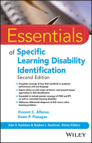 Essentials of Specific Learning Disability Identification, 2nd Edition