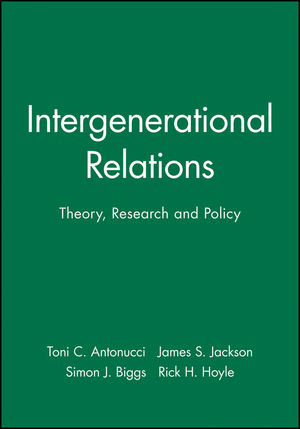 Intergenerational Relations: Theory, Research and Policy