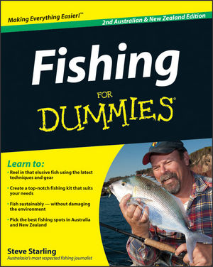 Fishing For Dummies, 2nd Australian and New Zealand Edition (1742169848) cover image