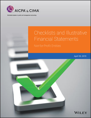 Checklists and Illustrative Financial Statements: Not-for-Profit Entities, 2019