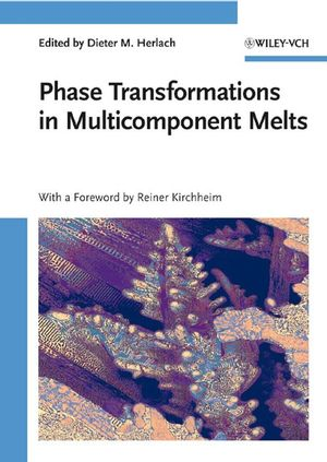 Phase Transformations in Multicomponent Melts