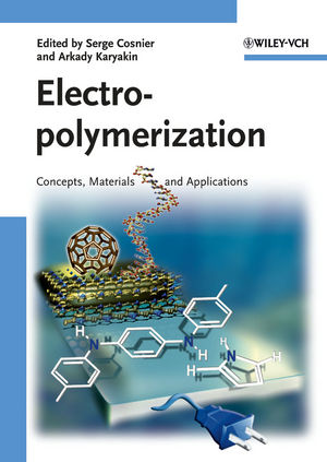 Electropolymerization: Concepts, Materials and Applications (3527642048) cover image
