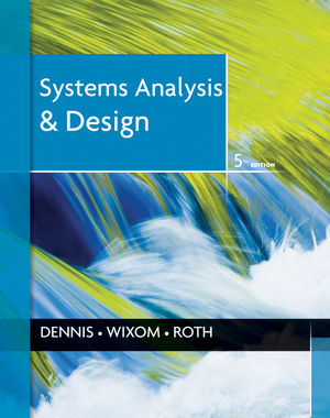 Systems Analysis and Design, 5th Edition (EHEP002048) cover image