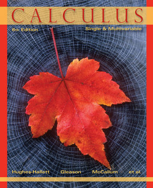Calculus: Single and Multivariable, 6th Edition (EHEP002448) cover image