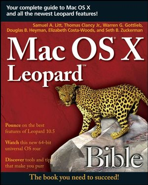 Mac OS X Leopard Bible (0470041749) cover image