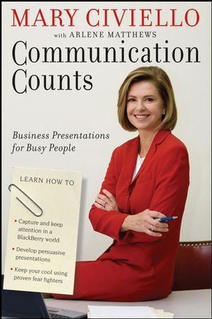 Communication Counts: Business Presentations for Busy People (0470178949) cover image