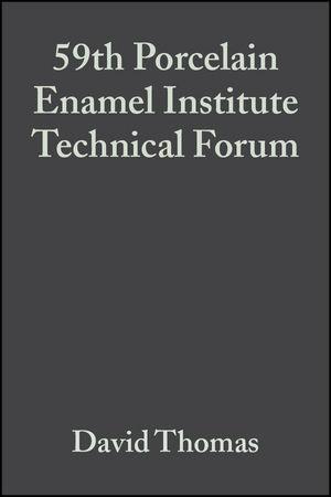 59th Porcelain Enamel Institute Technical Forum, Volume 18, Issue 5