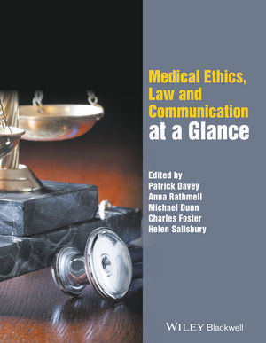 Medical Ethics, Law and Communication at a Glance (0470670649) cover image
