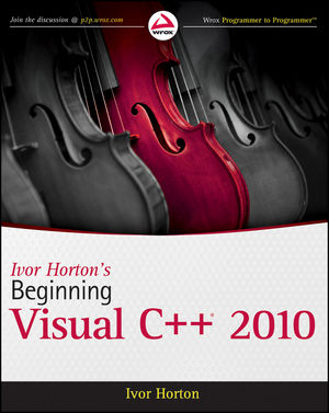 Ivor Horton's Beginning Visual C++ 2010 (0470930349) cover image