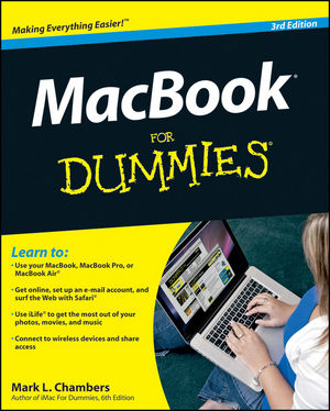 MacBook For Dummies, 3rd Edition (0470931949) cover image