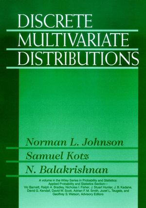 Discrete Multivariate Distributions (0471128449) cover image