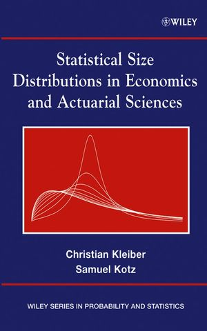 Statistical Size Distributions in Economics and Actuarial Sciences (0471150649) cover image