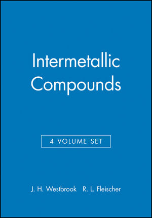 Intermetallic Compounds, 4 Volume Set