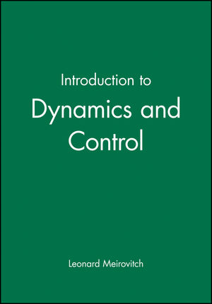 Introduction to Dynamics and Control (0471870749) cover image