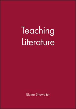 Teaching Literature (0631226249) cover image