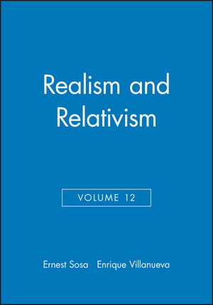 Realism and Relativism, Volume 12
