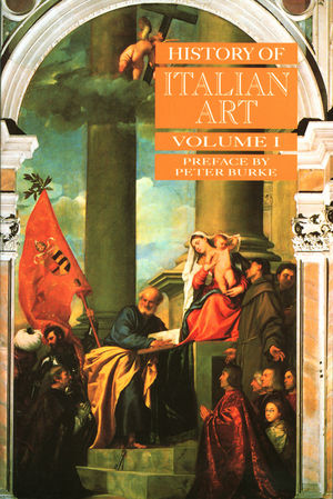 History of Italian Art, Volume I (0745617549) cover image