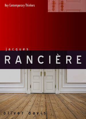 Jacques Rancière (0745646549) cover image