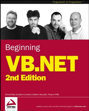 Code for Beginning VB.NET 2nd Edition