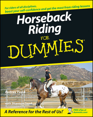 Horseback Riding For Dummies (1118051149) cover image