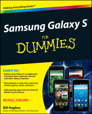 Samsung Galaxy S For Dummies (1118075749) cover image