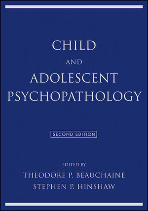 Child and Adolescent Psychopathology, 2nd Edition (1118120949) cover image