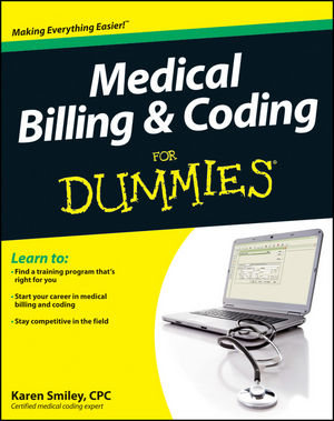 Medical Billing and Coding For Dummies (1118236149) cover image