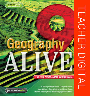 Geography Alive 9 For The Australian Curriculum eGuidePLUS (Online Purchase)