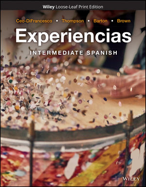 Experiencias: Intermediate Spanish, Loose-Leaf