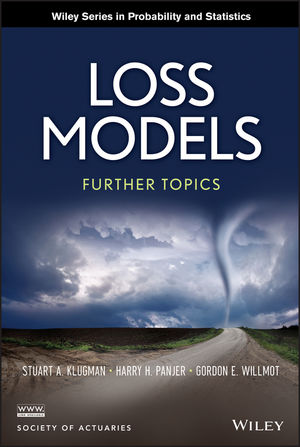 Loss Models: Further Topics (1118573749) cover image