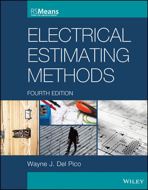 Electrical Estimating Methods, 4th Edition (1118766849) cover image