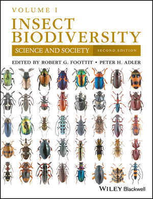 Insect Biodiversity: Science and Society, Volume 1, 2nd Edition (1118945549) cover image