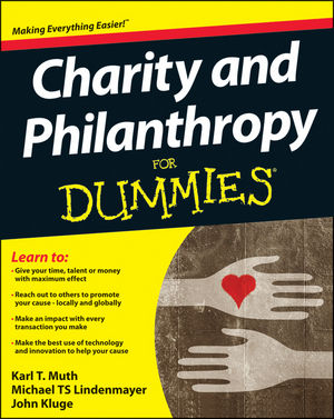 Charity and Philanthropy For Dummies (1119943949) cover image