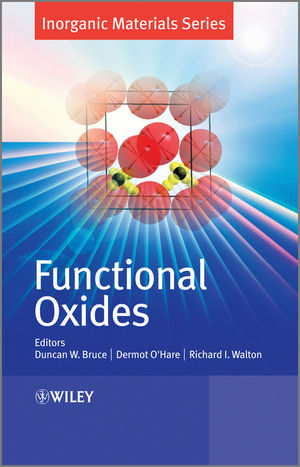Functional Oxides (1119972949) cover image