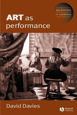 Art as Performance (1405143649) cover image