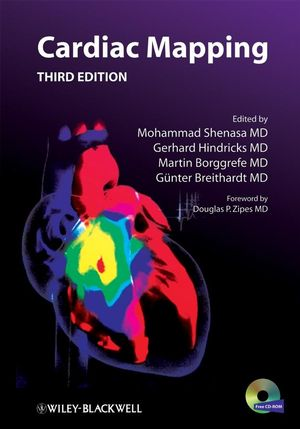 Cardiac Mapping, 3rd Edition (1444303449) cover image
