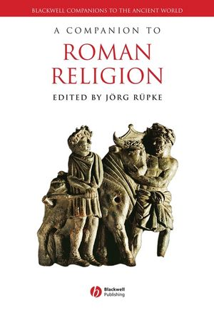A Companion to Roman Religion (1444339249) cover image