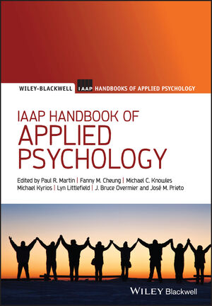 IAAP Handbook of Applied Psychology (1444395149) cover image